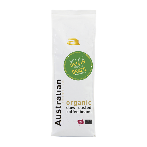Australian organic koffiebonen