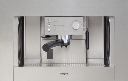 Whirlpool inbouw koffiemachine